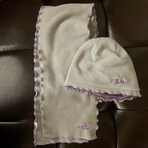 Fila Fleece Hat & Scarf Set